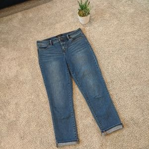 💐 Talbot's Cropped Flawless Five Pocket Jeans